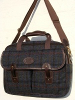 Edinburgh Navy Harris Tweed