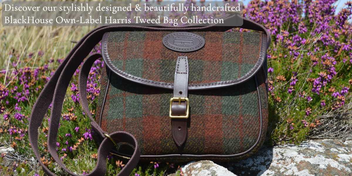 1c71a21ab2 BlackHouse Harris Tweed Handbags   Luggage - BlackHouse