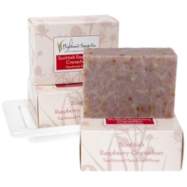 Soap Bar Raspberry Cranachan