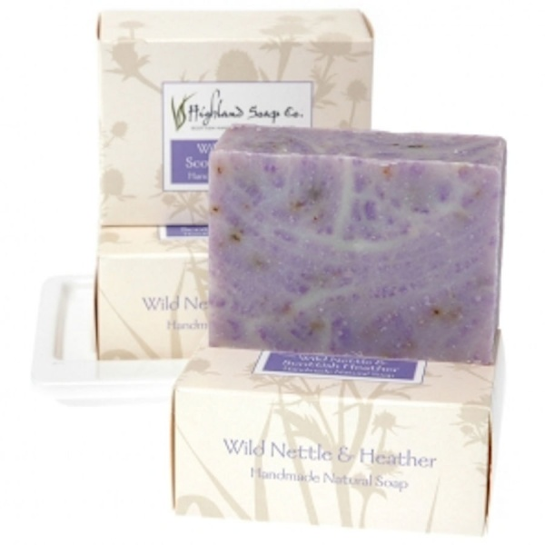Soap Bar Wild Nettle and Heather