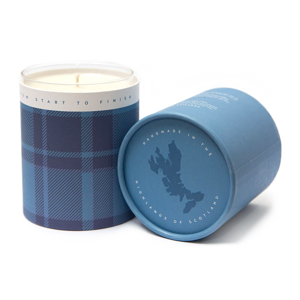 Scottish Bluebell Candle