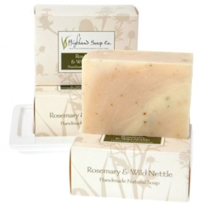 Soap Bar Rosemary and Wild Nettle